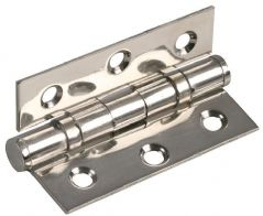 DURATOOL D02060  S/Steel Hinge 2Bb Polished 3X1
